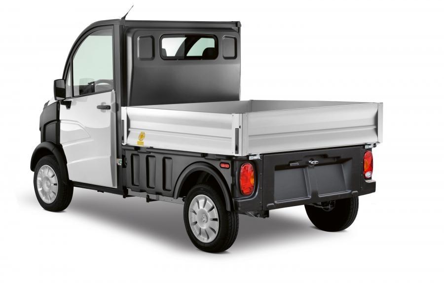 Aixam Furgón D-Truck Paredes Amovibles