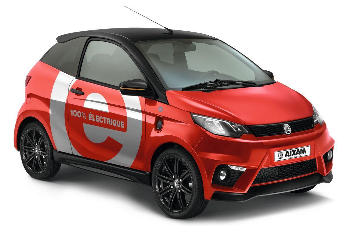 E-Aixam E-Coupé GTI. Coches sin carnet eléctricos - UrbanCar