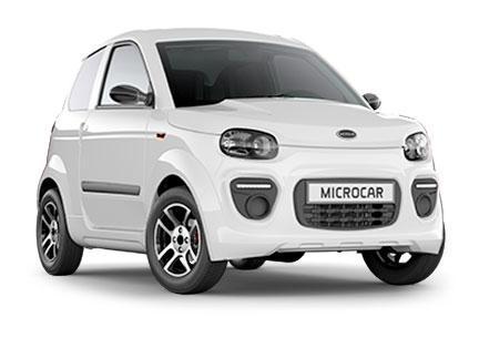 Microcar M.Go6 Plus blanco