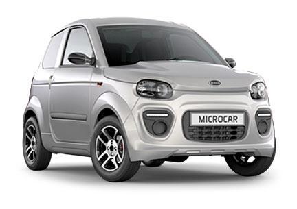 Microcar M.Go6 Plus 6 gris